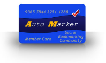 AutoMarker Social Traffic Member Card