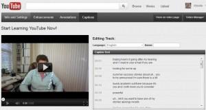 YouTube Video Transcription